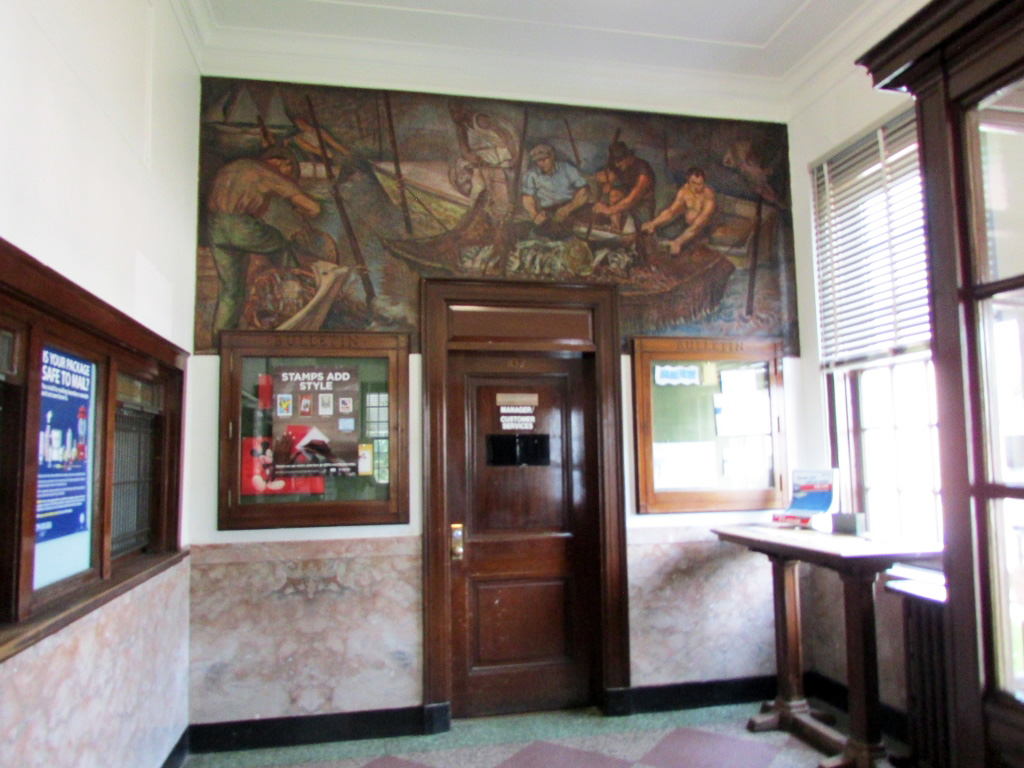 Hampton Virginia New Deal Projects - Photo #1 - Phoebus Post Office